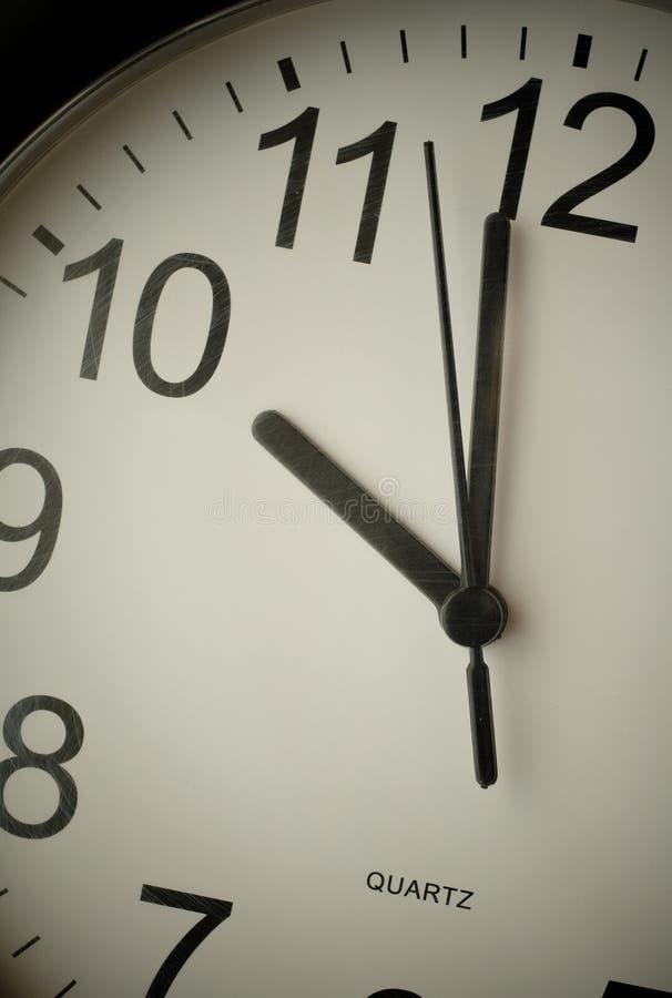 Free Clock Near Ten Royalty Free Stock Photos - 13811518