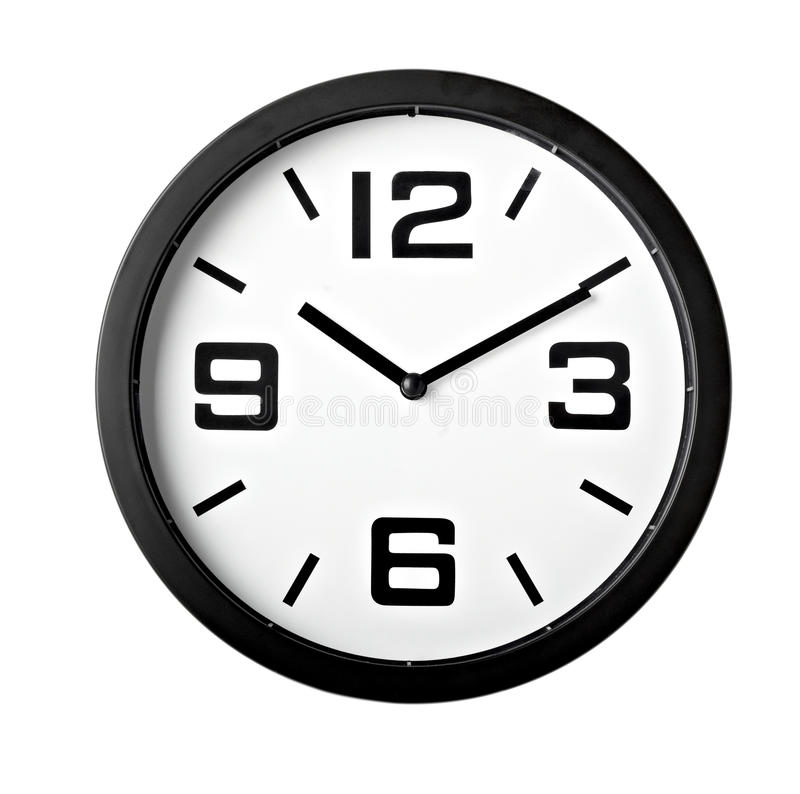 Clock office time business royalty free stock photo