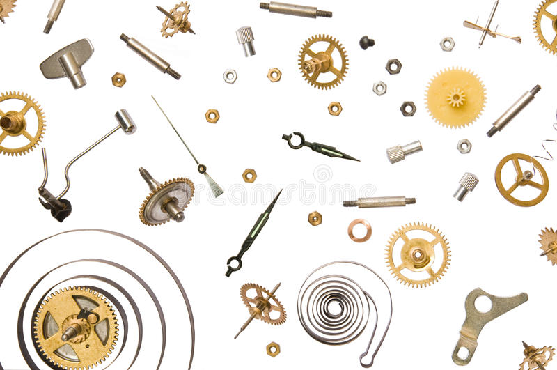Download Clock Parts Royalty Free Stock Photography - Image: 32013357