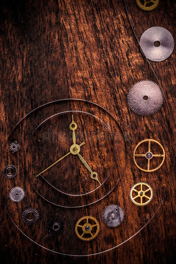 Download Clock parts stock image. Image of background, ancient - 34836635