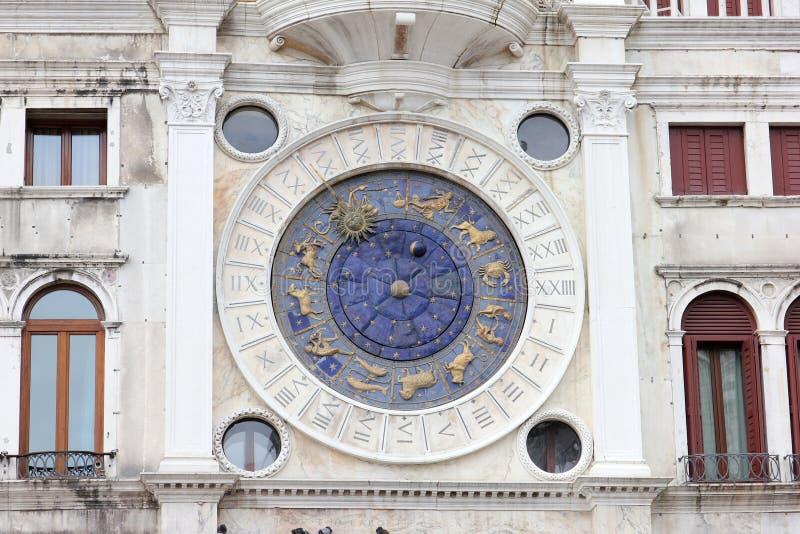 Download Clock Piazza San Marco  Venice Stock Photo - Image: 83703238