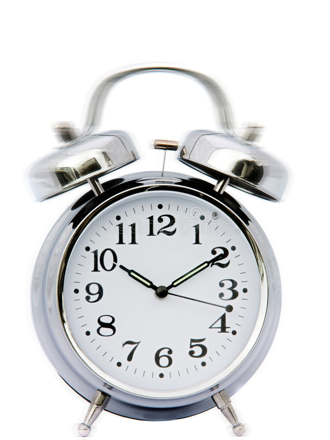 Download Clock ringing stock image. Image of fashioned, metal, minute - 4616149