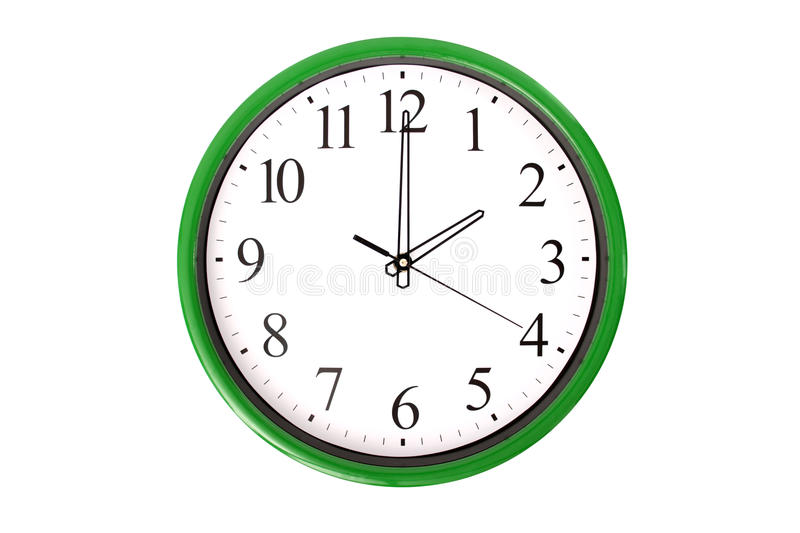 Download Clock serie - 2 o'clock stock image. Image of commitment - 32948301