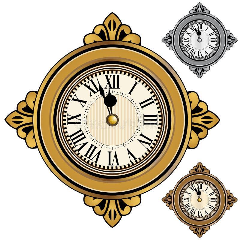 Clock Set vector illustration
