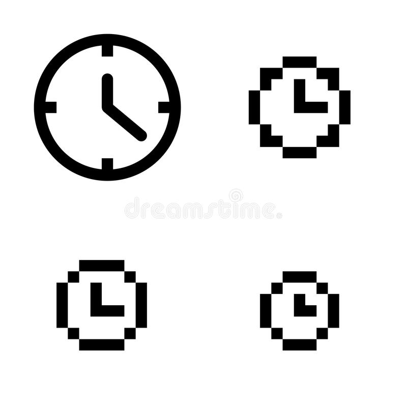 Download Clock Set Royalty Free Stock Photo - Image: 16709355