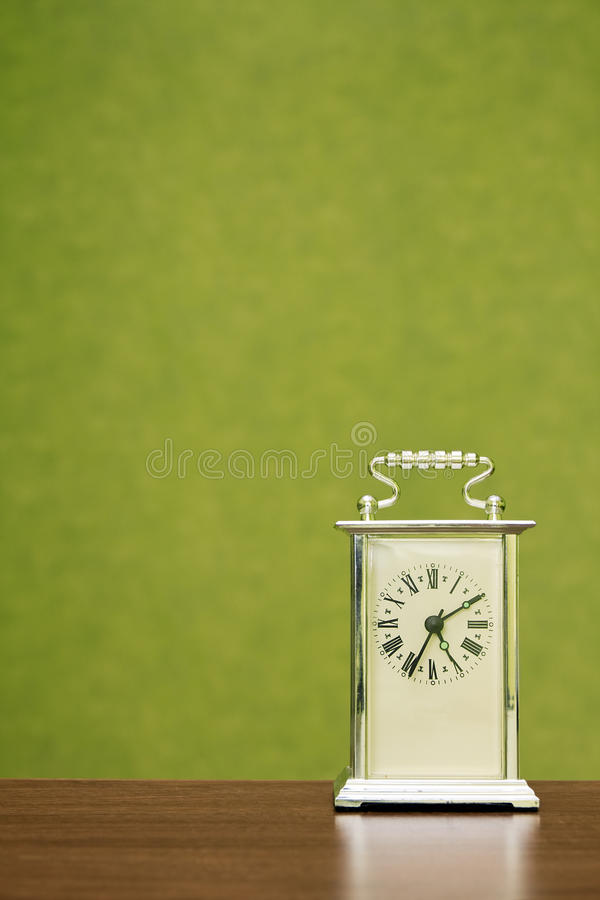 Free Clock Shows The Time Ten Past Five Royalty Free Stock Photo - 19154815