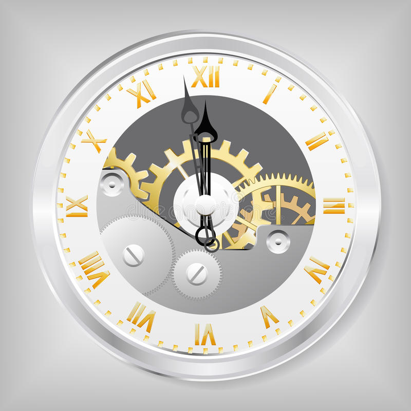 Free Clock-skeleton. Royalty Free Stock Photography - 21813487