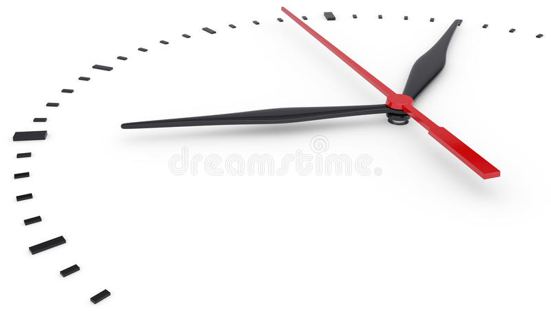 Download The Clock And Timestamp Without Numbers Stock Illustration - Illustration: 28314330