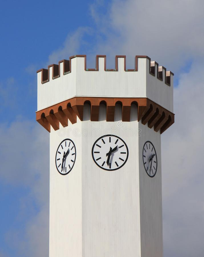 Download Clock Tower at 1:30 stock image. Image of free, tower - 83011777