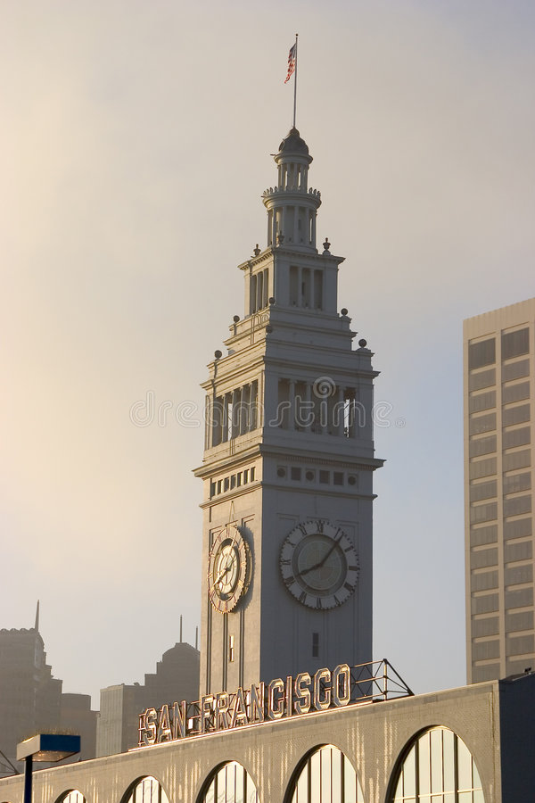 Clock Tower #1 royalty free stock image