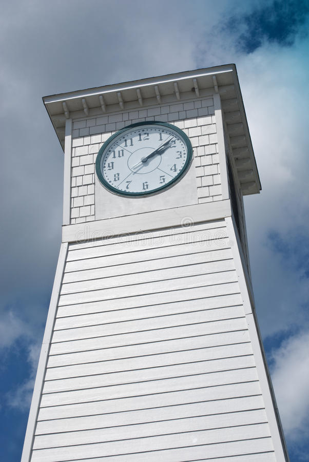 Download Clock Tower stock image. Image of daytime, clouds, time - 10737969