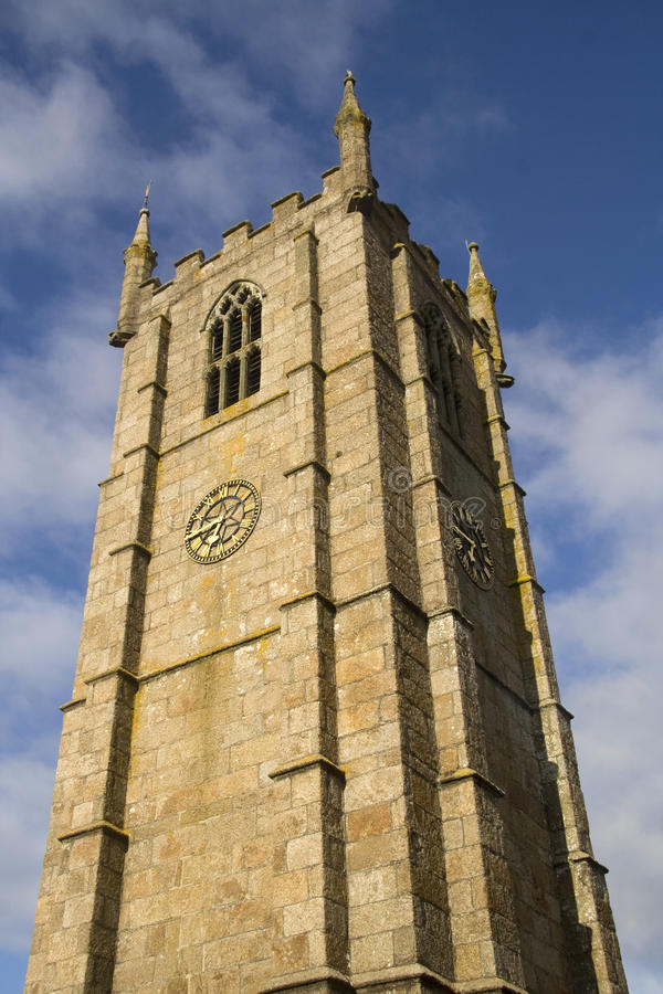 Download Clock tower stock photo. Image of time, cornwall, hour - 11675588
