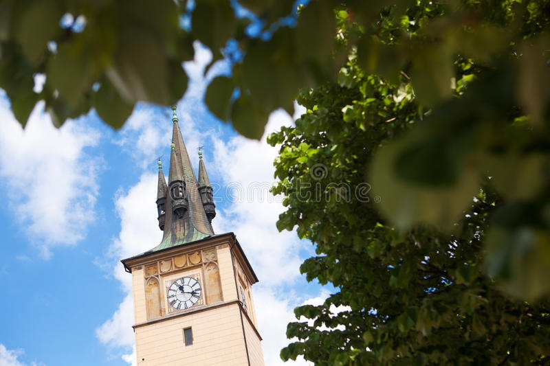 Download Clock on the Tower stock image. Image of historical, clouds - 25642897