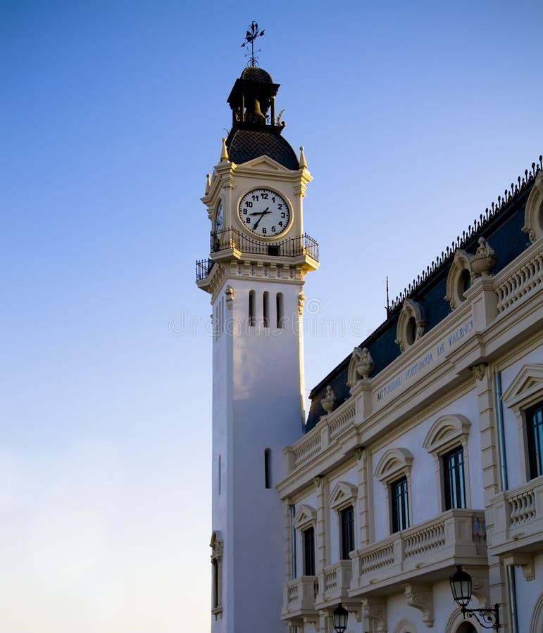 Download Clock tower stock image. Image of vertical, oclock, built - 3780119