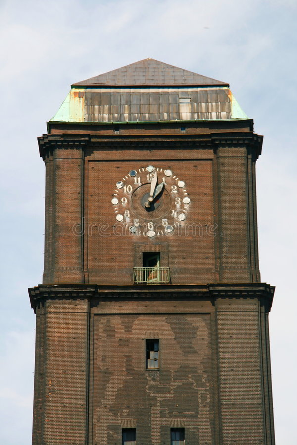 Download Clock tower stock image. Image of silesia, manufacturing - 6133817