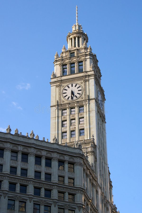 The Clock Tower Stock Photography
