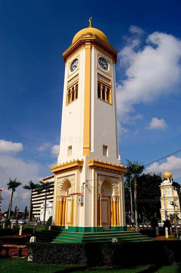 Clock Tower, Alor Setar, Kedah, Malaysia. Clock Tower is built in 1912 and located at Jalan Putera, Alor Setar, Kedah, Malaysia royalty free stock photo