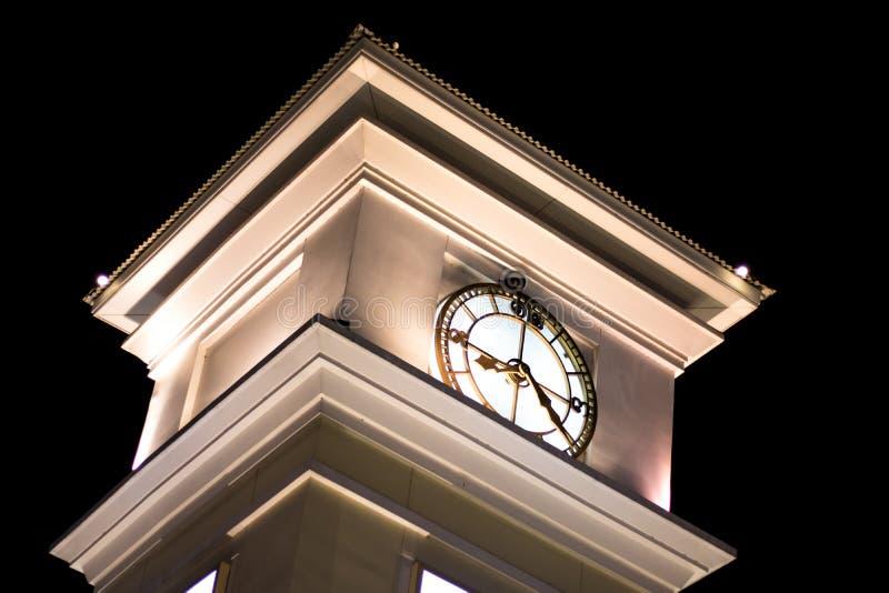 Clock tower bangkok stock photography