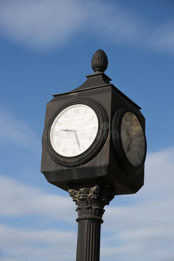 Download Clock Tower stock image. Image of blue, british, dawson - 61707017