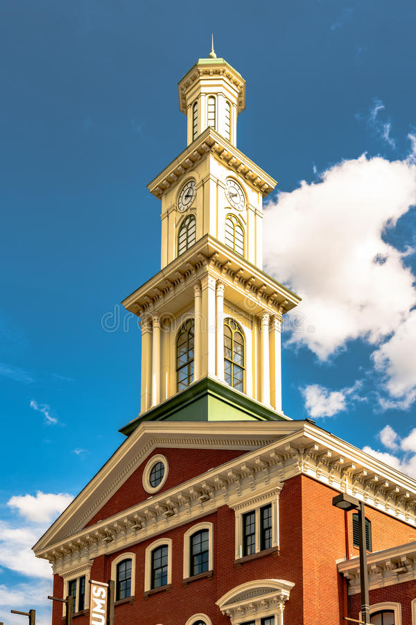 Clock tower on Camden Station royalty free stock images