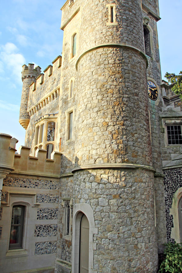 Download Clock tower castle stock photo. Image of outdoor, tower - 28665870