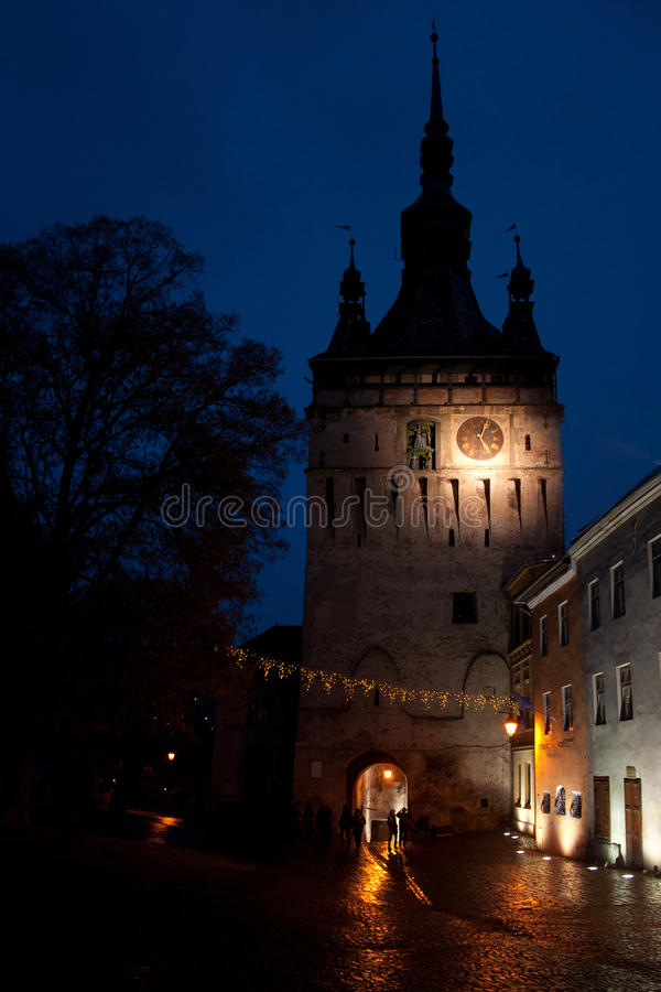 Download The Clock Tower,  Landmark Of Sighisoara Stock Photo - Image of century, major: 49306658