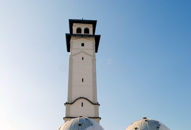 Clock tower, Prizren stock photography