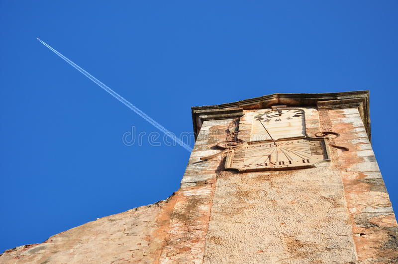 Download Clock Tower In Roussillon, Provence Royalty Free Stock Photos - Image: 22042888