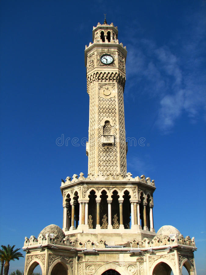 Download Clock Tower (Saat Kulesi) In Izmir Stock Image - Image: 27091337