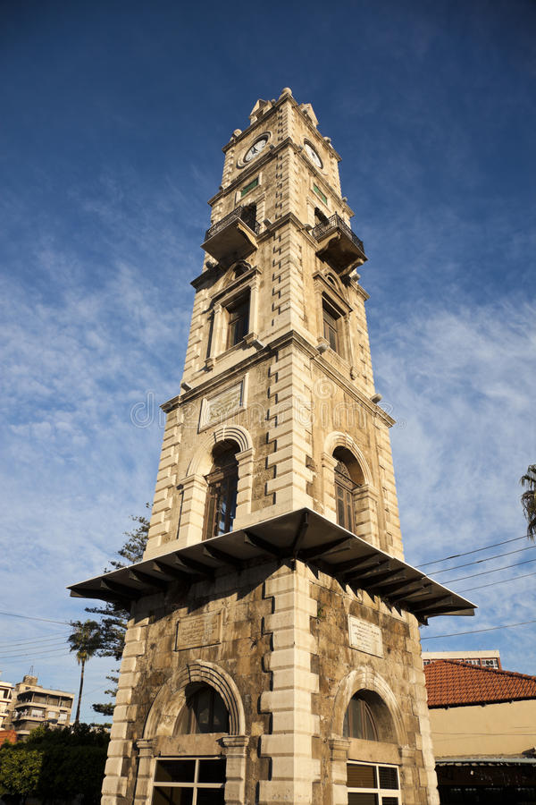 Clock Tower in Tripoli. Lebanon stock images