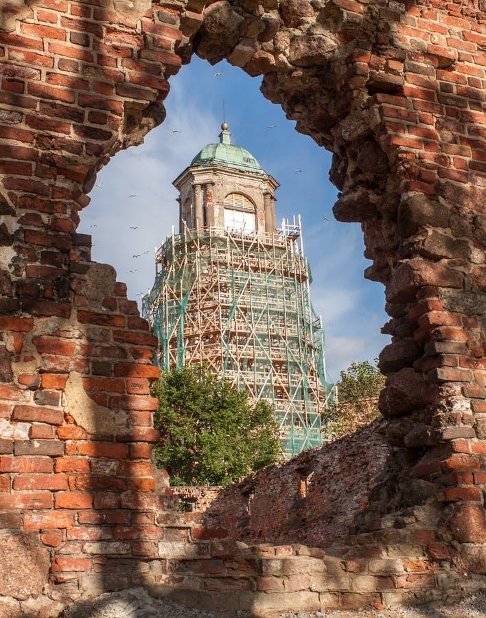 Free Clock Tower Vyborg Stock Images - 67612694