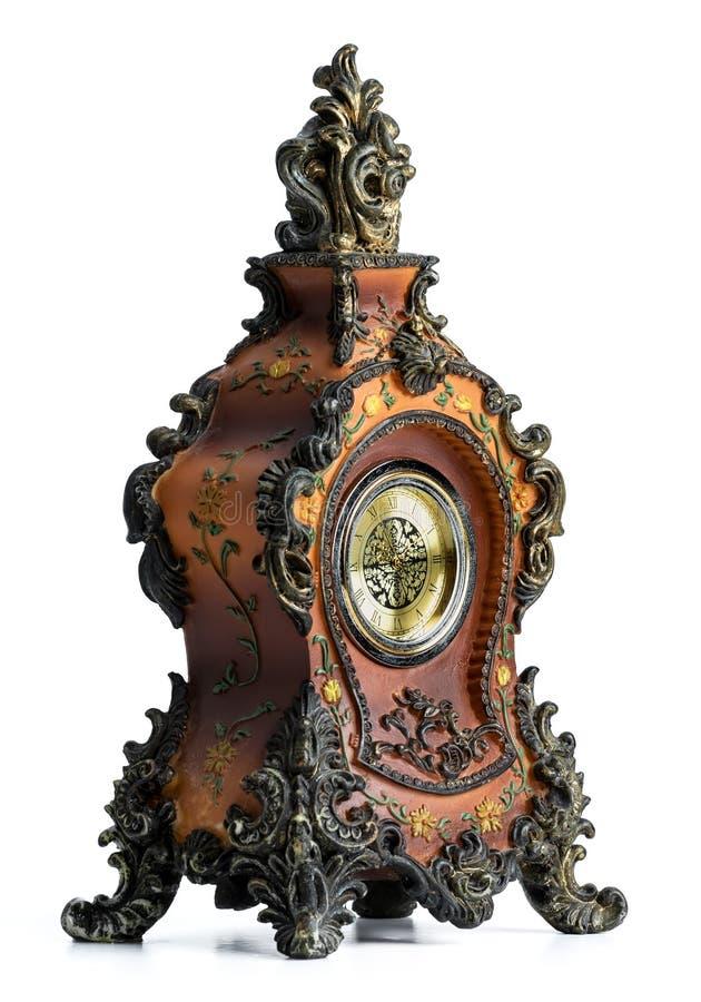 Clock, Wall Clock, Metal, Antique stock photography