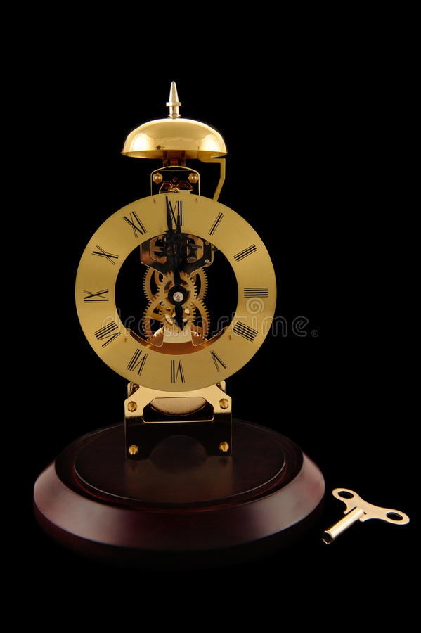 Download Clock and Works stock image. Image of noon, works, wooden - 16939023