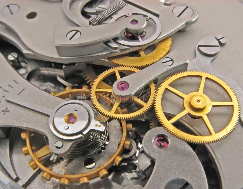 Clock works. stock photo