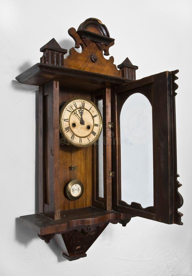 clock2 τοίχος στοκ εικόνες