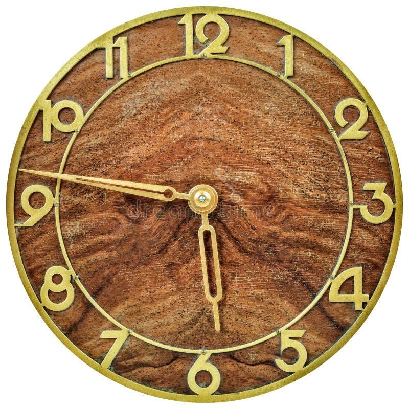 Clockface стиля Арт Деко от начала двадцатого века стоковое фото
