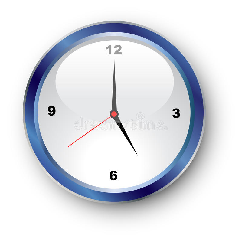 Clockface illustration stock