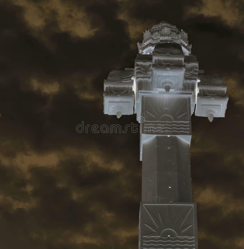 Clockhouse wierza Srilanka obraz royalty free