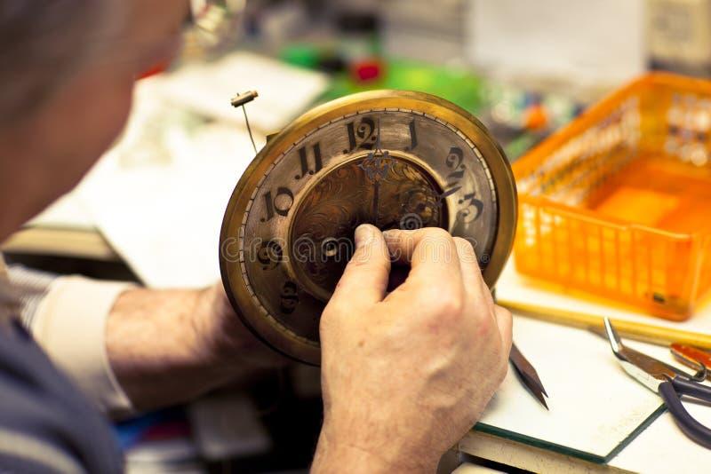 clockmaker obrazy stock