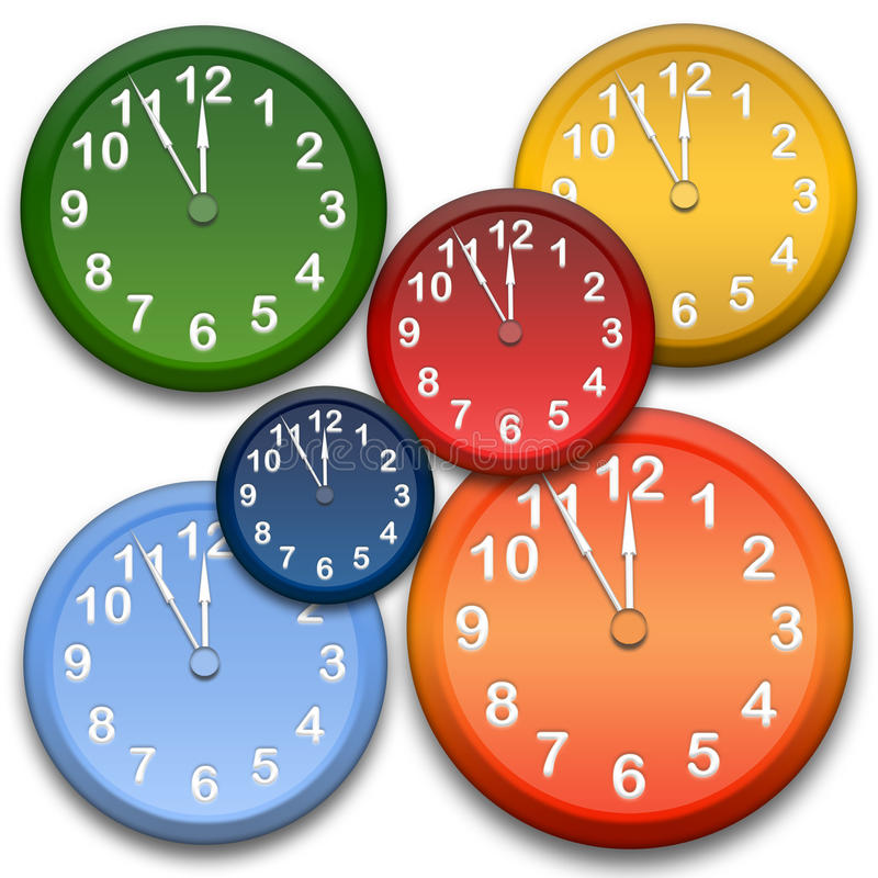 Free Clocks Royalty Free Stock Images - 11958979