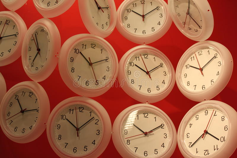 Clocks royalty free stock images