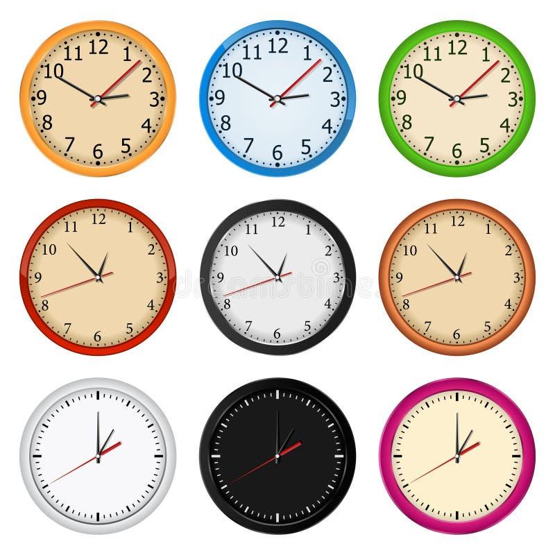 Download Clocks stock vector. Image of deadline, design, modern - 22533431