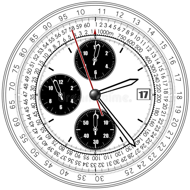 Download Clocks stock vector. Image of quartz, mechanism, device - 23426116
