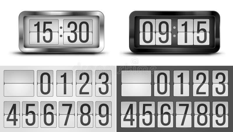 clocks ilustração do vetor