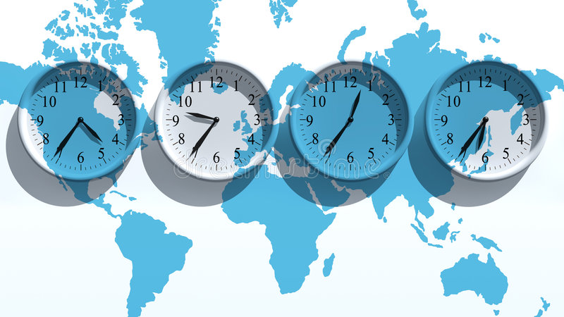 Clocks vector illustration