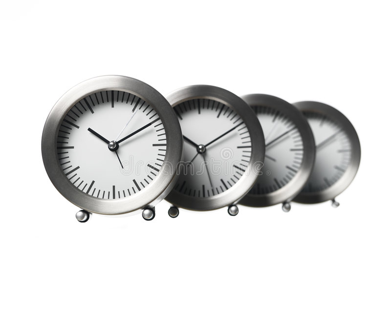 Clocks royalty free stock photography