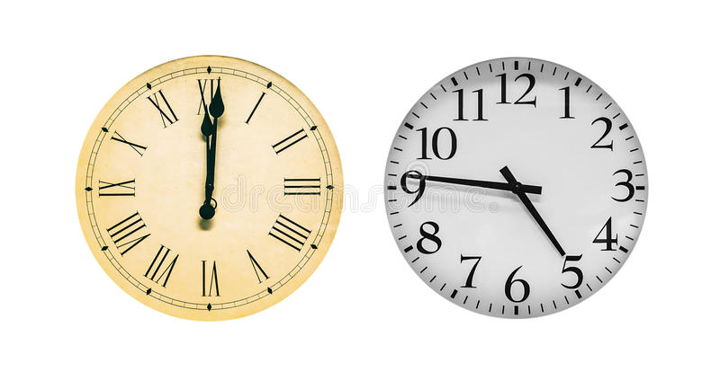 clocks fotografia de stock royalty free