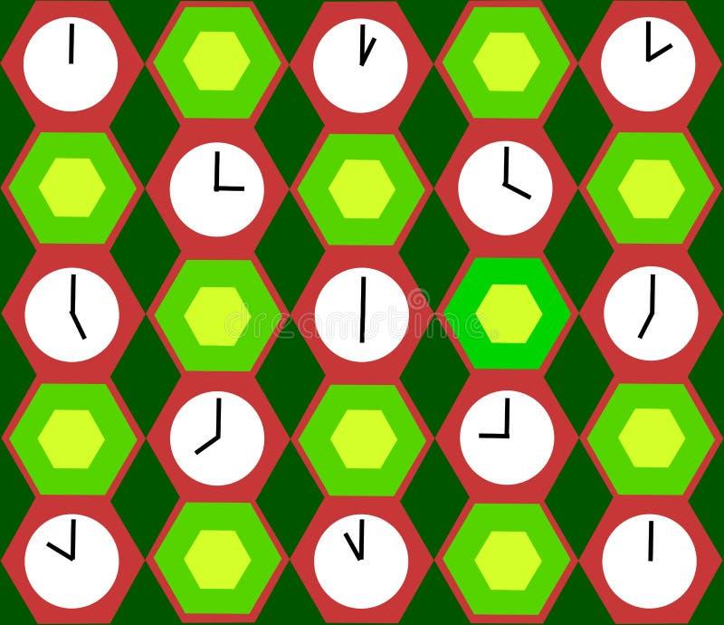 Clocks background royalty free stock photography