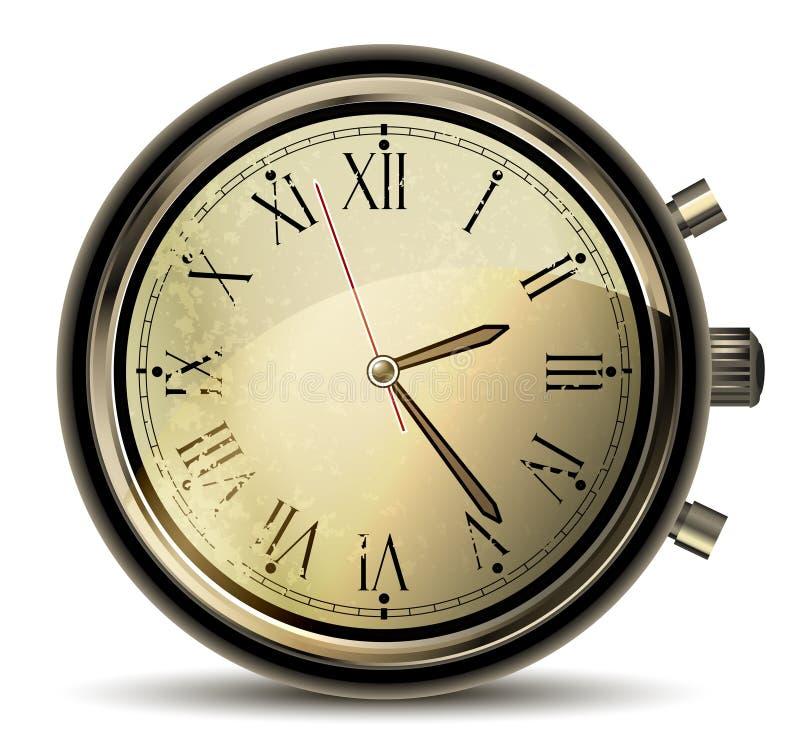 Download Clocks vintage stock vector. Image of modern, sign, mechanism - 23319383