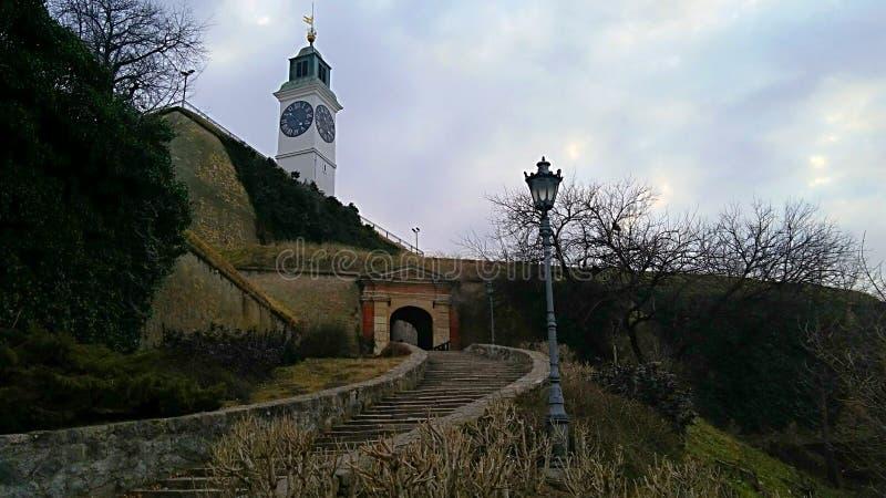 Clocktower royalty-vrije stock afbeeldingen